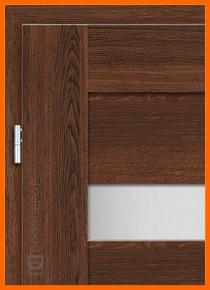 European Interior Doors Magnolia 1 Walnut